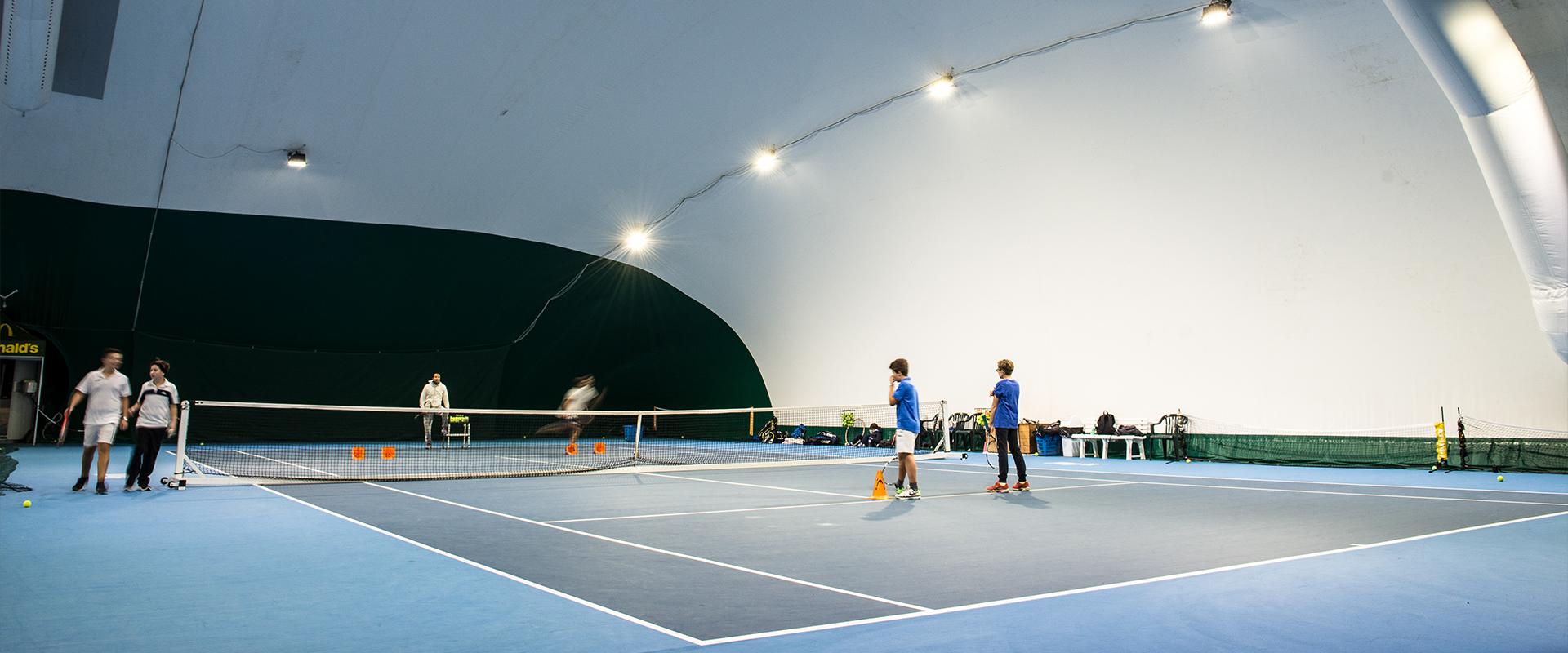 Fari LED tennis
