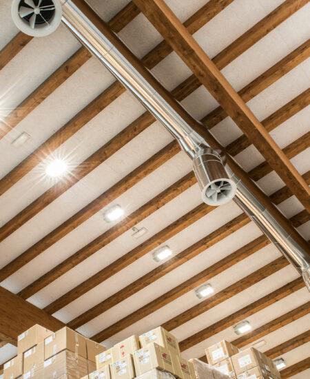 Fari LED capannoni industriali