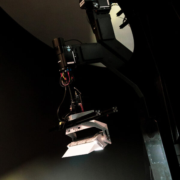 Goniofotometro presso l'Innovation Technological Center di AEC Illuminazione