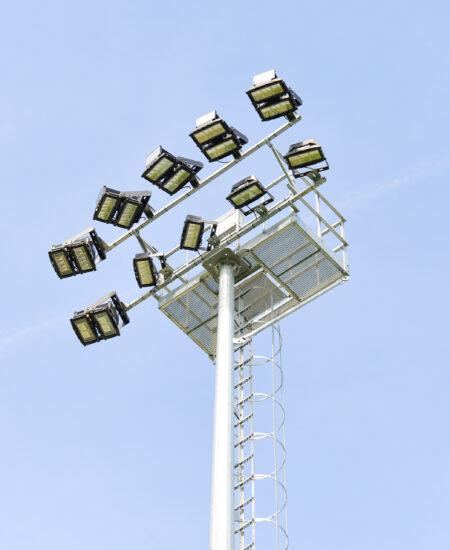 Fari LED ad alta potenza per campi da calcio