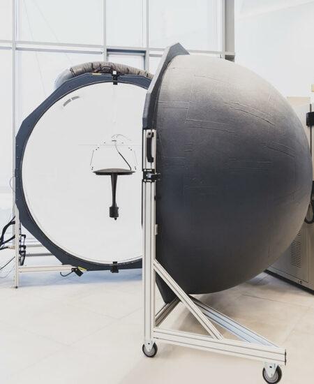 Sfera di Ulbricht (Integrating Sphere) presso ITC l'Innovation Technological Center di AEC Illuminazione