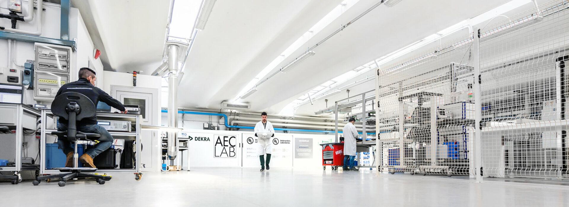 Laboratori test DEKRA e UL - ITC Innovation Technological Center - AEC Illuminazione